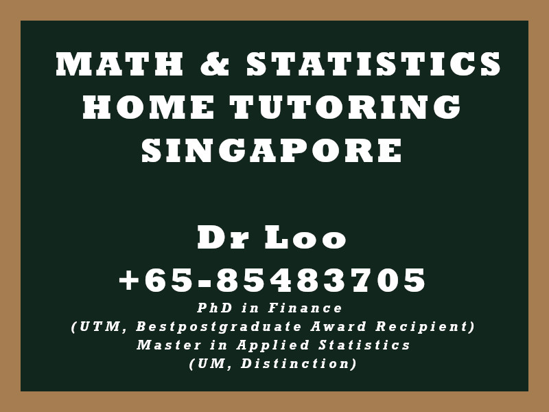 IGCSE Mathematics Private Tutoring in Singapore
