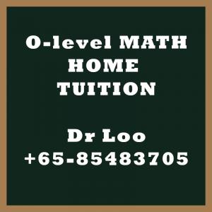 O level A-Math Home Tuition Singapore