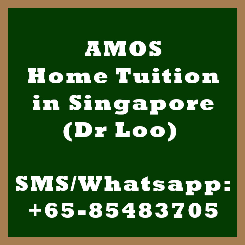 AMOS Home Tuition Singapore