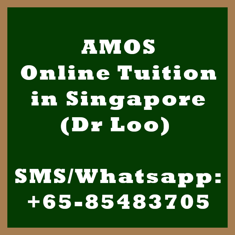 AMOS Online Tuition Singapore