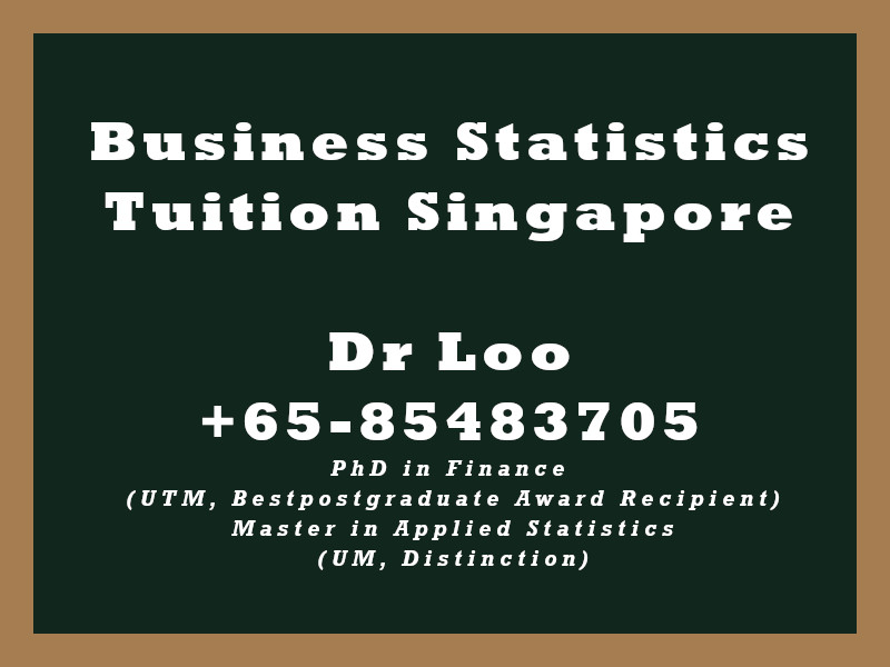 Business Statistics Private Tuition Singapore
