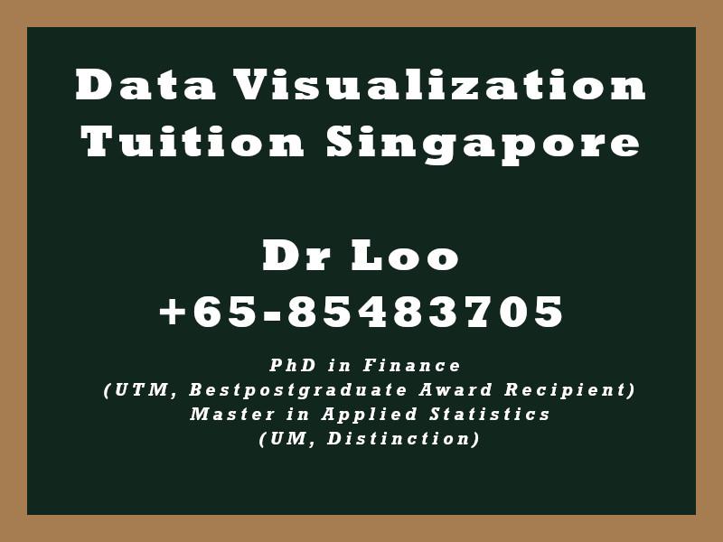 Data Visualization Private Tuition Singapore