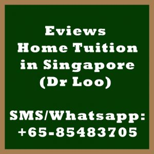 Eviews Home Tuition Singapore
