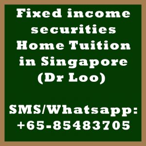 Fixed income securities Home Tuition