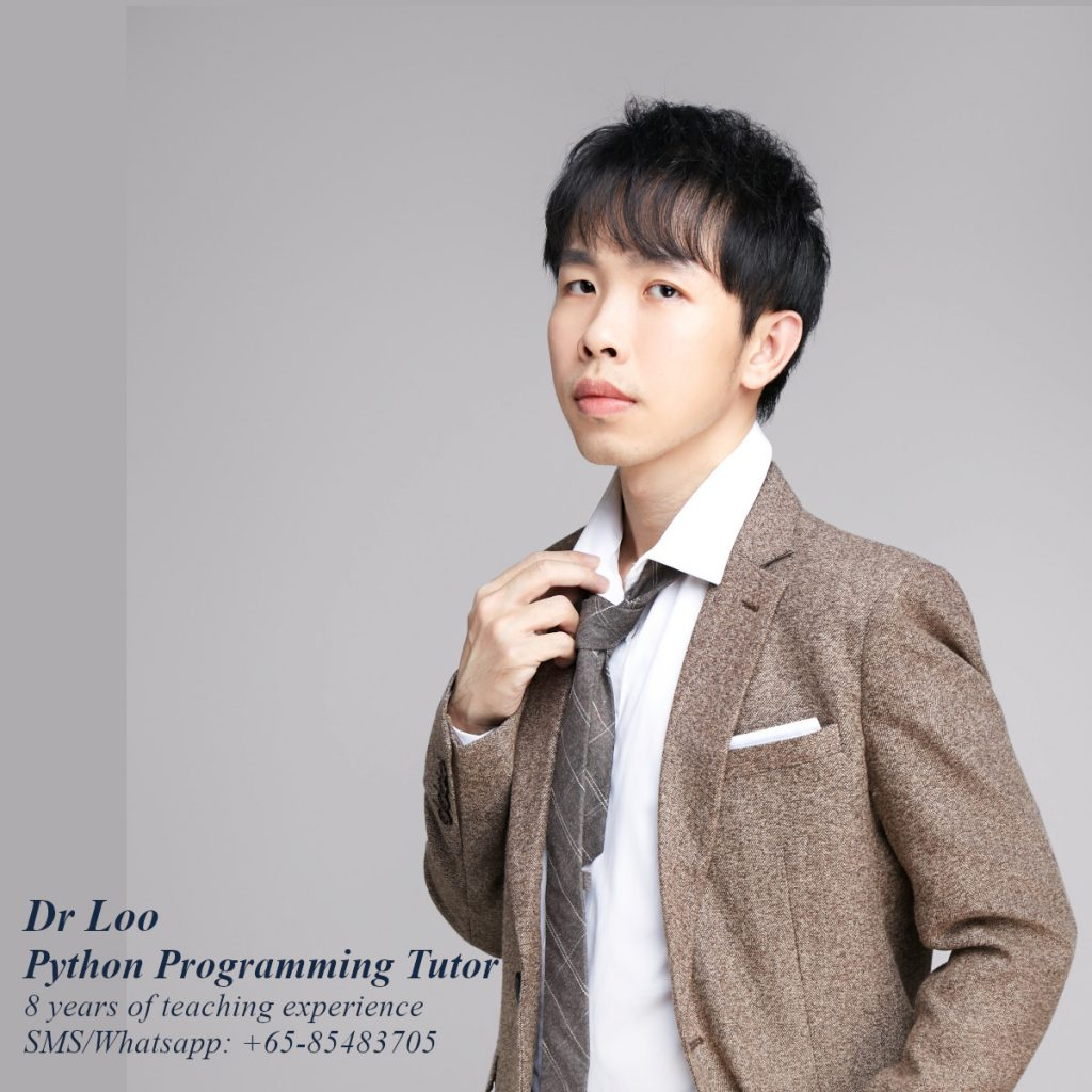 Python Programming Tutor in Singapore
