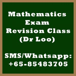 Mathematics Exam Revision Class Singapore