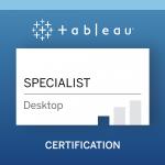 Statistics Teacher - Tableau Desktop Specialist