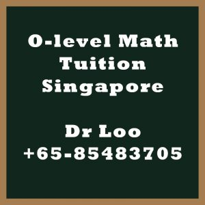 O-level Maths Tuition Singapore