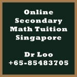 Online Secondary Math Tuition Singapore