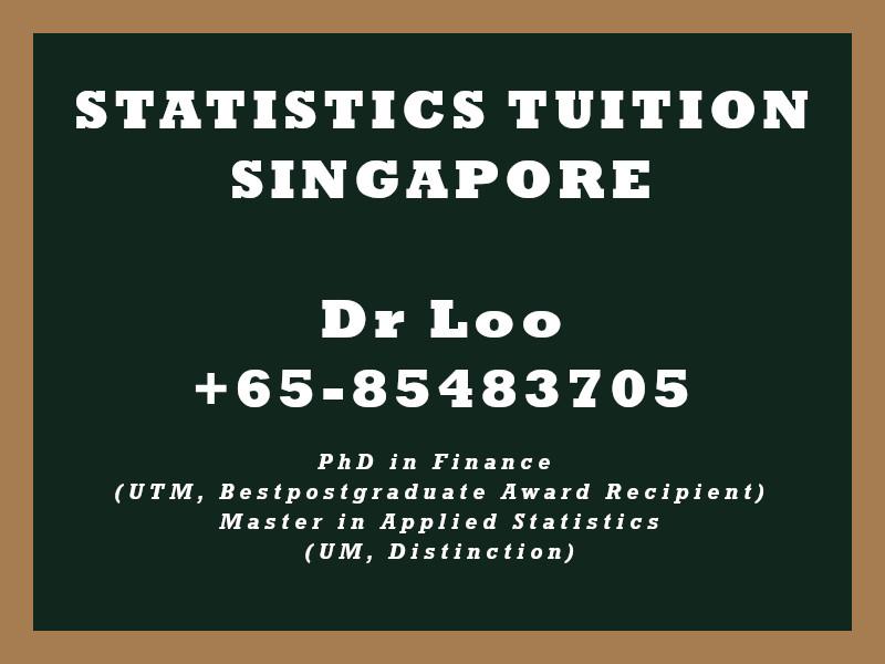 Statistics Private Tutoring in Singapore