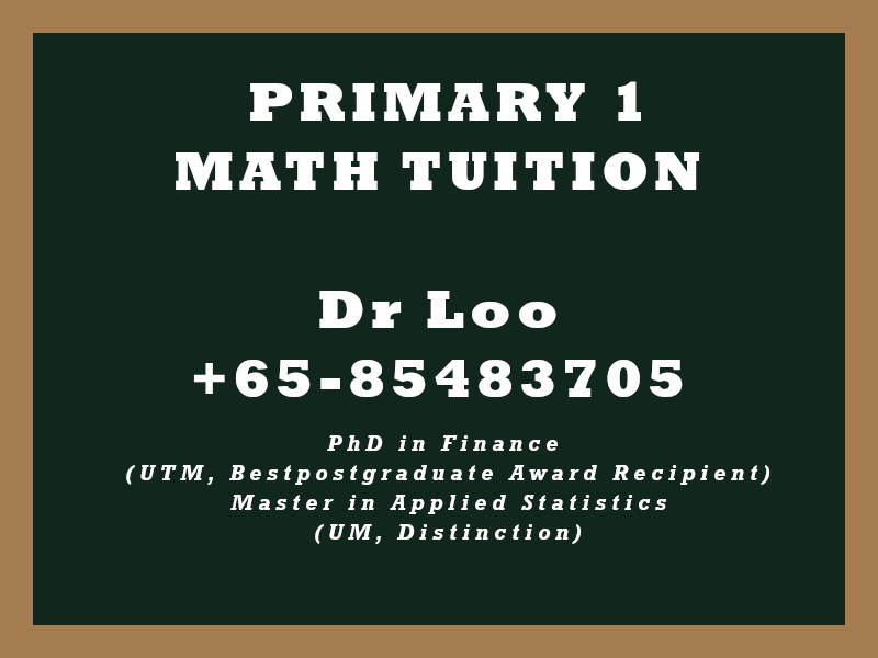 Primary One Math Tuition