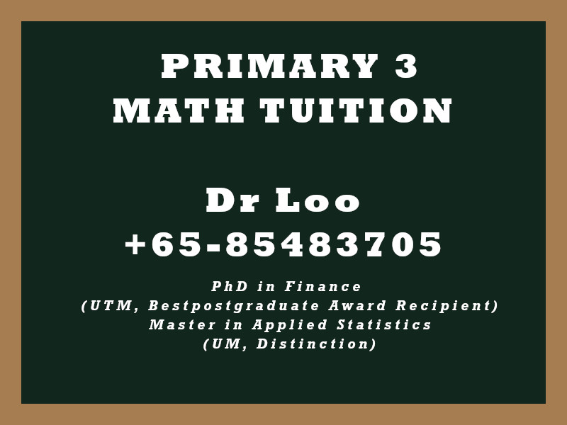 Primary Three Math Tuition