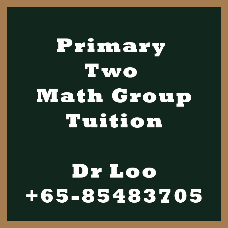 Primary Two Math Group Tuition Class Singapore